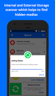 MoveIt: Move Media to SD Card - náhled