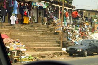 Photo: road side shops