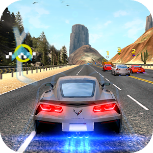 Racing in speed car for PC and MAC