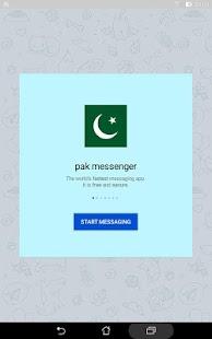 Pak messenger - náhled