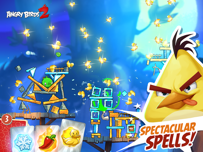 Angry Birds 2 Mod v2.0.1 (Unlimited Gems & Energy) APK - screenshot