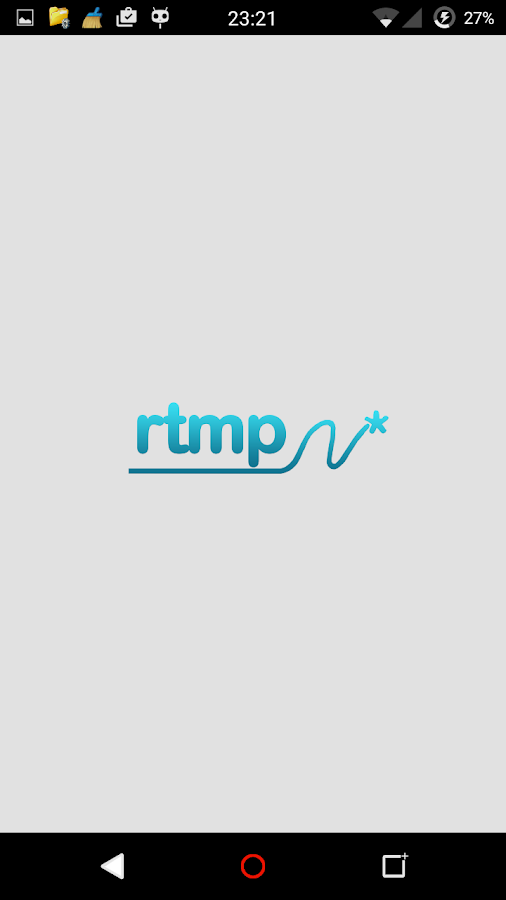 Simple RTMP M3U8 RTSP Player- screenshot