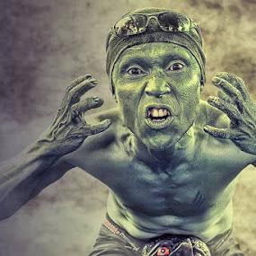 The Face by Cevi Permana - People Fine Art