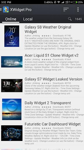Screenshot for XWidget Pro in Hong Kong Play Store