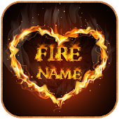 Name Fire Text Name Art