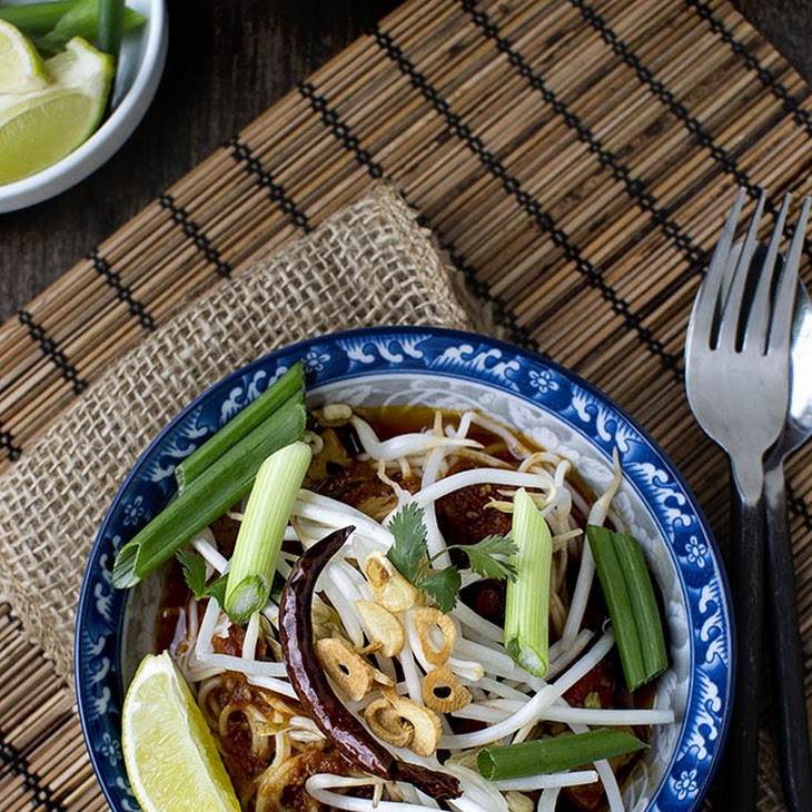 Thai Curried Noodles Recipe