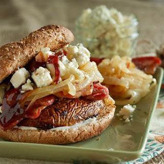 Steakhouse Marinated Portobello Mushroom Burger