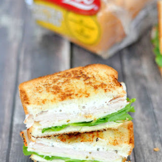 Spinach Artichoke Turkey Sandwich