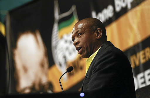 Let's talk' not fight says Mahumapelo.