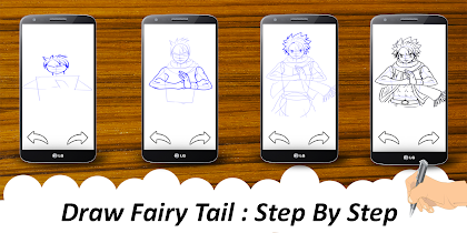 🎨 Learn To Draw fairy taile - screenshot thumbnail 08