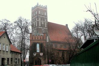 Photo: Widok późnogotyckiej Kolegiaty w Środzie Wielkopolskiej