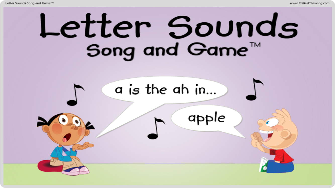 Letter Sounds Song and Game™- screenshot
