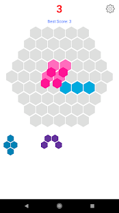 Hexagon Puzzle Screenshot