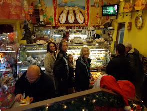 Photo: A feast for eyes and tummy in the local Pasticceria