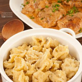 Hungarian Noodle Dumplings (Nokedli)