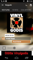 Screenshot of Vinylgodis