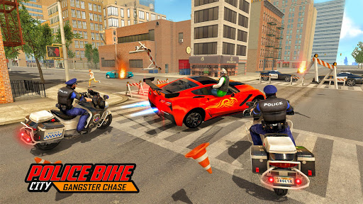 NY Police Bike City Gangster Chase  code Triche 1