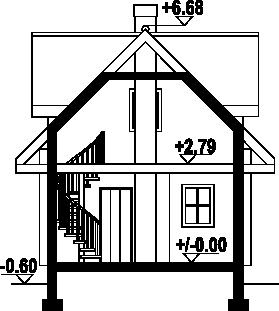 Gajowo 6p - Przekrój