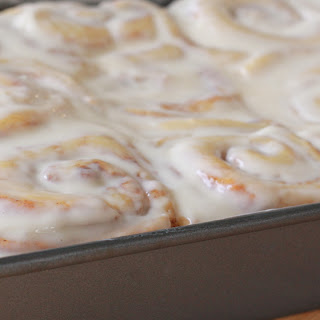 Fluffy, Homemade Cinnamon Rolls.