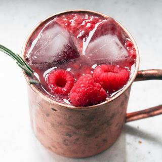 Raspberry Rum Mule [RECIPE]