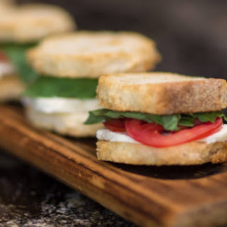 Caprese and Honey Grilled Cheese Sandwiches