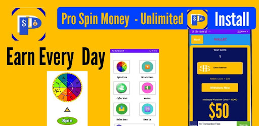 Earn Real Money With Pro Spin Per Day $10.