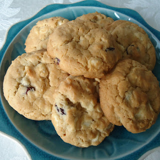 Oatmeal, Cranberry & White Chocolate Chip Cookies