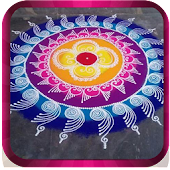 Kolam and Rangoli Designs