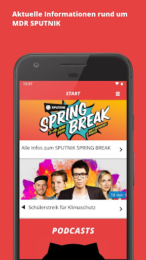 MDR SPUTNIK – Die Radio-App - screenshot