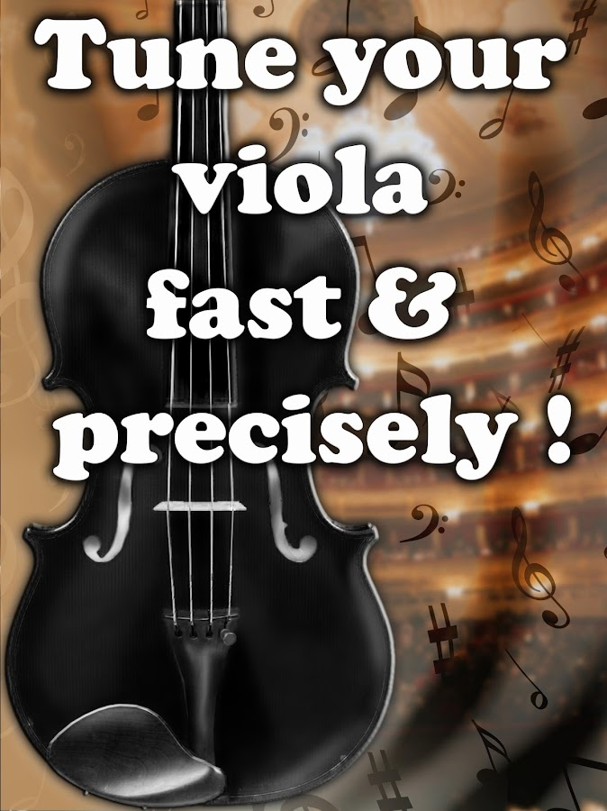 Chromatic Viola Tuner- screenshot