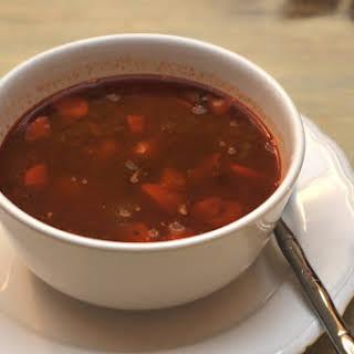 Ingredients German Goulash Soup.