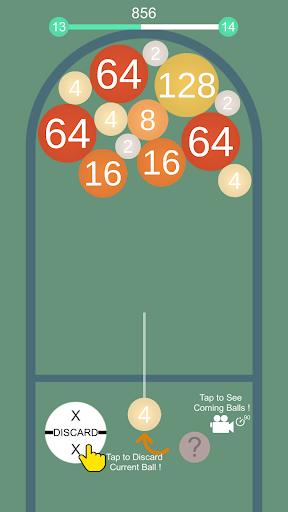 Code Triche 2048 Balls - Merge 3D Balls mod apk screenshots 1