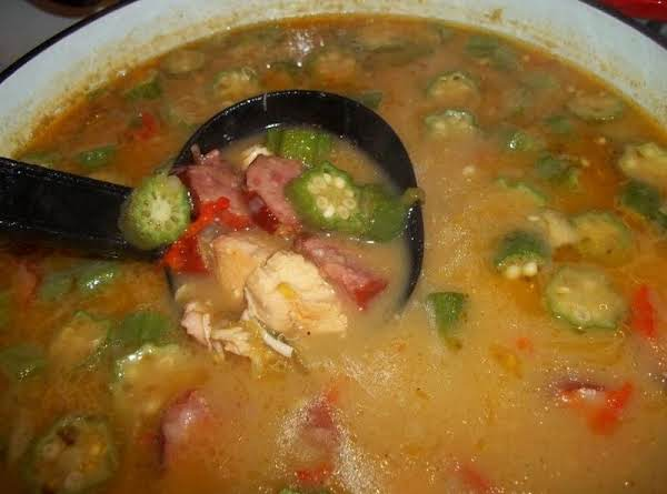 Gumbo - Dads  Most Requested Recipe