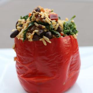 Vegan Stuffed Bell Peppers.