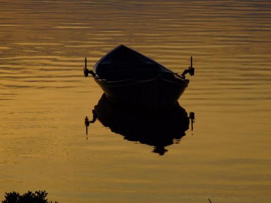 La barca a remi Ciu di maspier