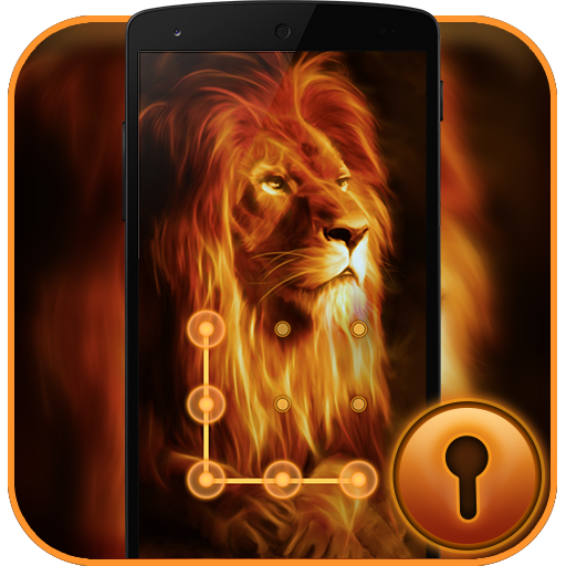 Fire Lion CM Security Theme