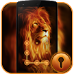 Fire Lion CM Security Theme APK