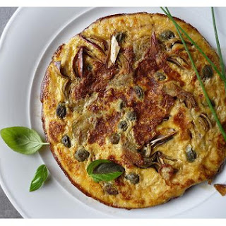 Tortino Di Carciofi - Artichoke Omelette
