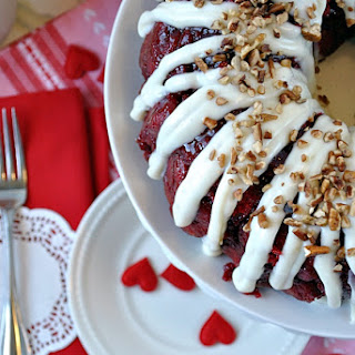 Red Velvet Monkey Bread