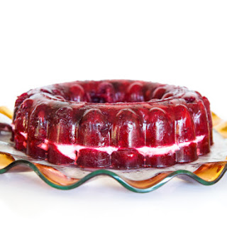 Cran-Raspberry Jello Salad