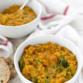 Lentil Soup With Turmeric Recipes.