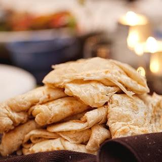 Trinidadian Paratha Roti.