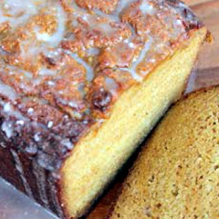 Glazed Pumpkin Bread