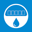 Report Water. Meters data icon