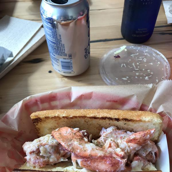 Amazing!   Delish GF lobster roll!
