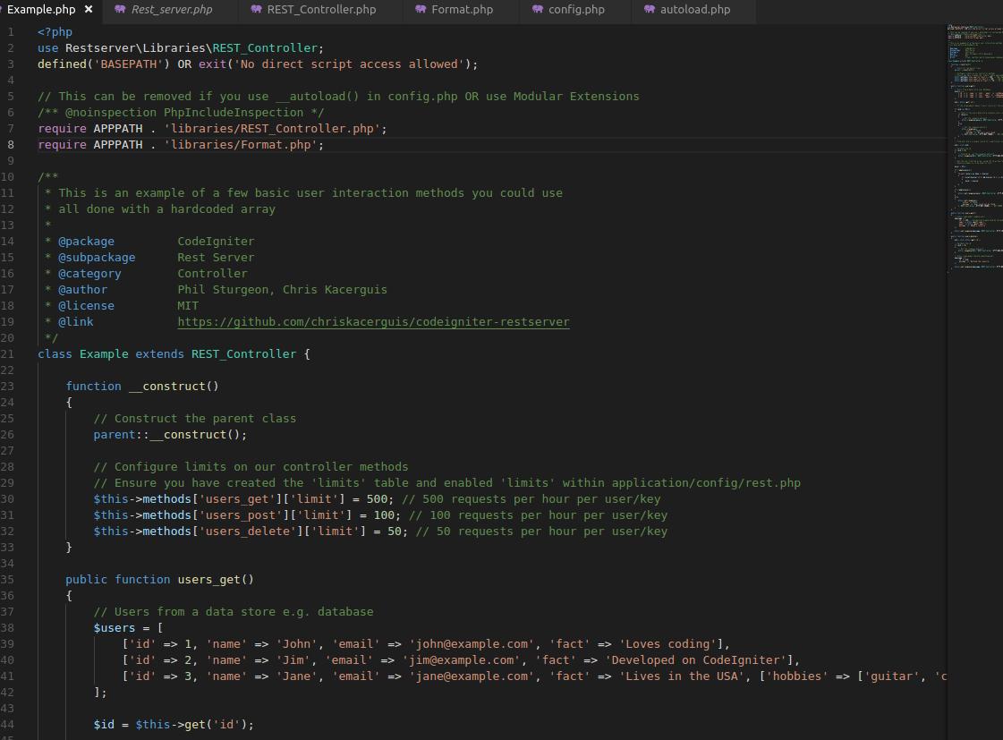 Cara Menginstal Rest API Server pada Codeigniter 3.1.9