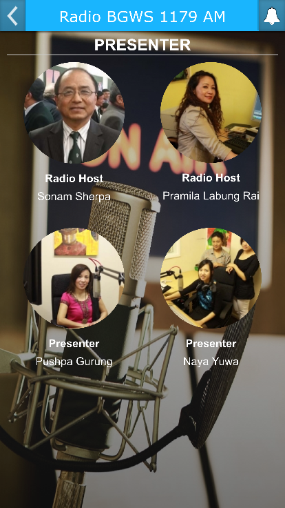 Radio BGWS 1179 AM- screenshot