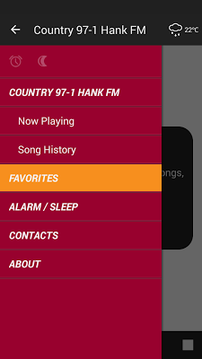 Country 97-1 Hank FM - screenshot