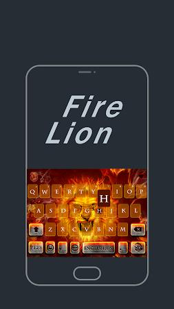 Fire Lion Emoji Kika Keyboard 29.0 screenshot 863076