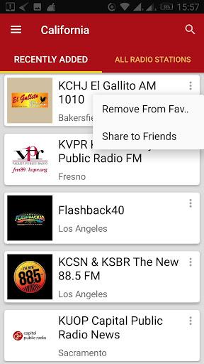 California Radio Stations 1.0.0 screenshots 5